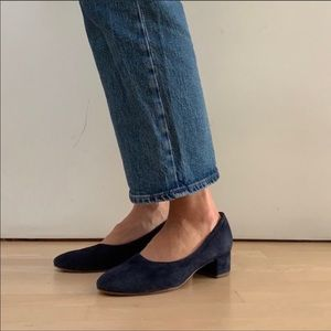Vagabond the day heels suede size 38